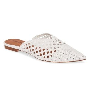 Jeffrey Campbell Leno Woven Pointed Toe Mule